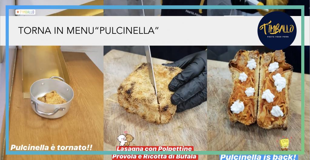 update timballo lasagna pulcinella carnevale wearestarting .png